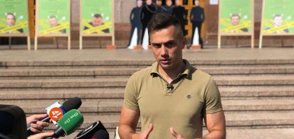 Екологічна Альтернатива офіційно висунула Єгора Фірсова у мери і представила кандидатів у Київраду.