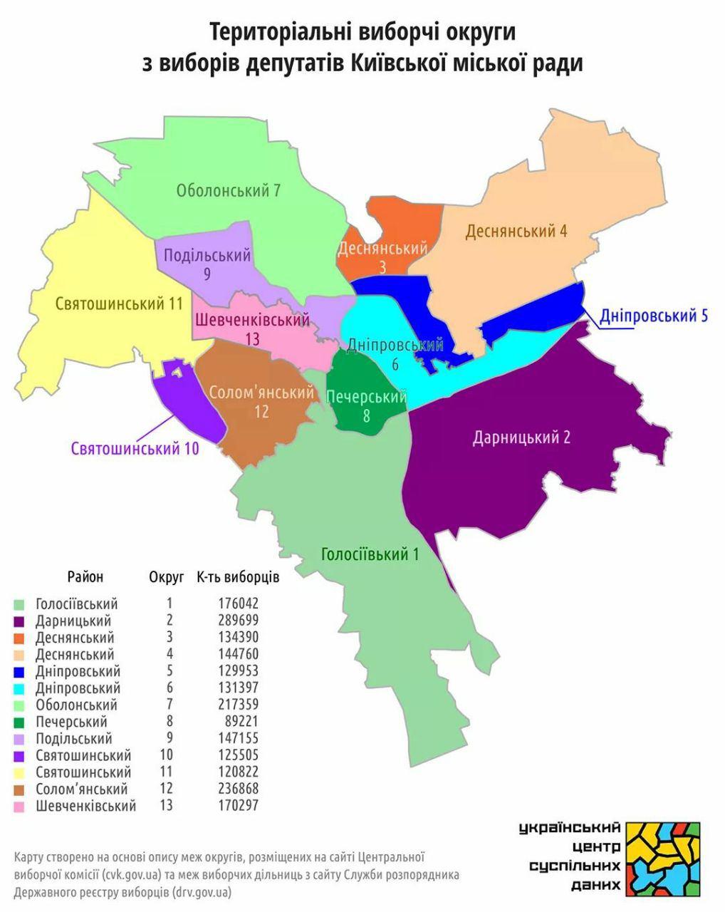 Список кандидатів Екоальтернативи по округах